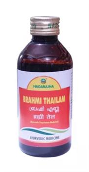 Brahmi thailam (Брами масло) - успокаивает, расслабляет, помогает восстановлению психики - фото 7932