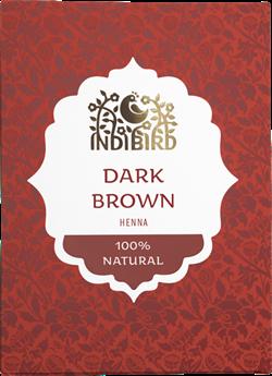 Хна тёмно-коричневая, 100гр - фото 7956