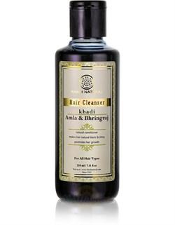 Шампунь Khadi Амла и Брингарадж  -  для всех типов волос - фото 8114