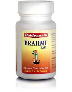 Brahmi Bati (Брами вати) - питает клетки мозга и ЦНС, 80 таб - фото 8127