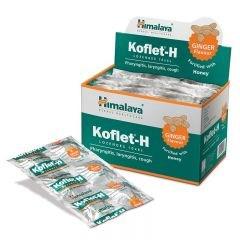 Koflet (Кофлет) - леденцы от кашля и боли в горле, с имбирём - фото 8176