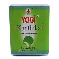 Yogi Kanthika - леденцы от кашля и боли в горле, 70 драже - фото 8282