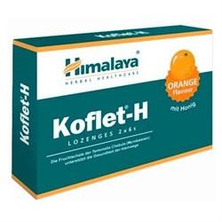 Koflet (Кофлет) - леденцы от кашля и боли в горле, со вкусом апельсина - фото 8296