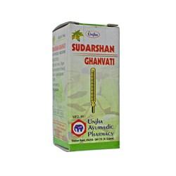 Sudarshan ghanvati (Сударшан гханвати) - жаропонижающее, противовирусное, кровоочистительное средство - фото 8414