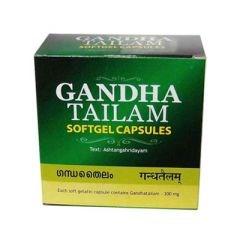 Gandha Tailam (масло Гандха капсулы) - при артрите, остеопорозе, для укрепления костей и связок - фото 8435