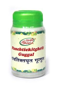 Panchtickit ghrit guggal аюрведический препарат для устранения токсинов во всем теле - фото 8533