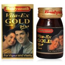 Vita-Ex Gold Plus (Вита Экс Голд Плюс капсулы) - для лечения половой дисфункции - усиленная версия препарата Vita-Ex Gold - фото 8687