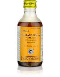 Himasagara Thailam (Химасагара Тайлам), 200мл - массажное масло для мышц и суставов, - фото 8725