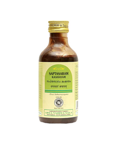 Saptasaram Kashayam (Саптасарам Кашаям) - от любых болей в области живота, баланс Вата-Доши - фото 8726