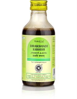Drakshadi Kashayam (Дракшади Кашаям) 200 мл - для лечения нервной системы - фото 8735