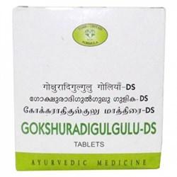 Gokshuradi Gulgulu DS Tablets (Гокшуради Гулгулу Д.С .) - при диабете, заболеваниях мочеполовой системы, кожи, болезнях желчного пузыря - фото 8749