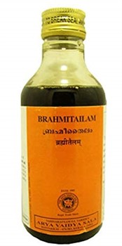 Brahmitailam (Брами масло), 200 мл - для массажа, от стресса - фото 8775