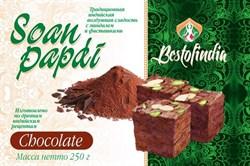 Соан Папди шоколад ( Soan papdi chocolate ) 250 гр - воздушная сладость с миндалём и фисташками - фото 8815
