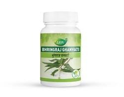 Bhringraj ghanvati (Брингарадж таблетки) - средство омолаживающее кости, зубы, волосы, зрение, слух и память - фото 8851