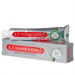 Травяная индийская зубная паста Намбудирис, 100 г - фото 8890