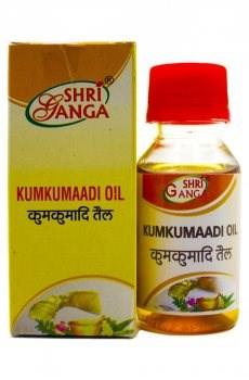 "Масло для лица шафрановое ""Кумкумади"" (Kumkumaadi oil), 50 мл - фото 8898"