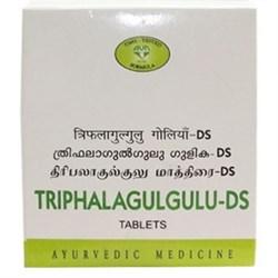 Triphla Guggul-DS (Трифала Гуггул - Двойная Сила) - популярное аюрведическое средство для очищения и омоложения организма - фото 8979