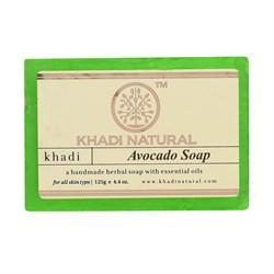 Глицериновое мыло ручной работы KHADI с авокадо - фото 9022