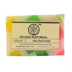 Глицериновое мыло ручной работы KHADI  фруктовый микс - фото 9030