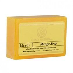 Глицериновое мыло ручной работы KHADI с манго - фото 9032