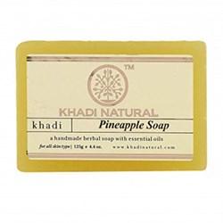 Глицериновое мыло ручной работы KHADI с ананасом - фото 9036