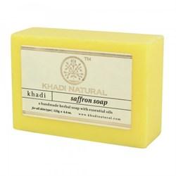 Глицериновое мыло ручной работы KHADI с шафраном - фото 9037
