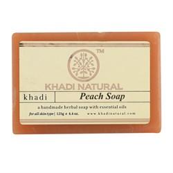 Глицериновое мыло ручной работы KHADI персик - фото 9043
