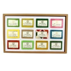 Khadi Handmade Soap Collection - подарочный набор, 12 шт по 25 гр - фото 9105