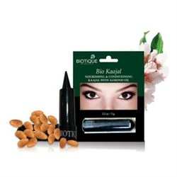 Каджал (kajal) - сурьма-карандаш для глаз, натуральный растительный  краситель,  3 гр - фото 9148