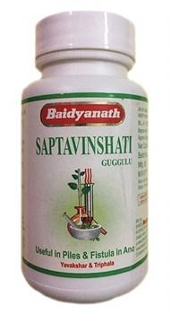 Saptavinshati guggul (Саптавиншати гуггул) - баланс Питта и Капха доши, очищение организма, нормализация обменных процессов - фото 9170