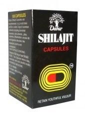 Shilajit Dabur (Шиладжит Дабур) - индийское мумиё , 100 капсул - фото 9231