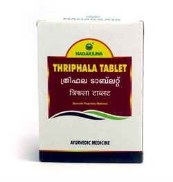 Trifala Nagarjuna (Трифала таблетки), 100 таб. по 2000мг - фото 9264