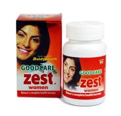 Zest Women, 60 капсул - аюрведическая омолаживающая формула для женщин - фото 9267