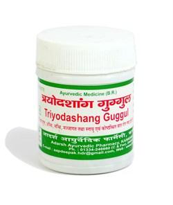 Trayodashang Guggul (Трайодашаг гуггул) - одно из лучших средств, балансирующих Вата дошу - фото 9272