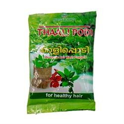 Травяная шампунь-маска для волос Тали Поди (Thali Podi), 50 гр - фото 9342