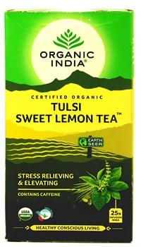 Tulsi sweet lemon tea (Тулси + сладкий лимон) - снятие стресса и подъём сил - фото 9349