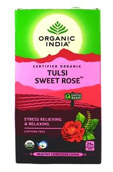 Tulsi sweet rose (Тулси + сладкая роза) - снятие стресса и расслабление - фото 9351