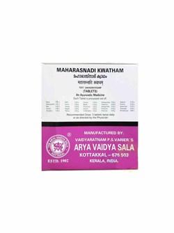 Maharasnadi Kwatham (Махараснади Кватхам) - при болезни Паркинсона и заболеваниях нервной системы, 100 таб - фото 9363