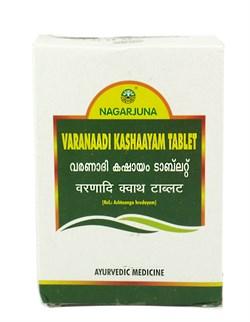 Varanaadi kashaayam tablet (Варанади кашаям) - средство для регулирования капхи, помогает при ожирении - фото 9378