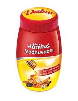 Honitus Madhuvaani Dabur (Хонитус Мадхуваани) - медовый сироп от кашля - фото 9389
