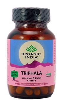 Трифала (Triphala) Organic India, 60 капсул - фото 9407