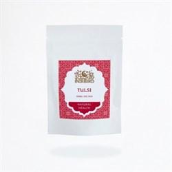 Туласи порошок (Tulsi)  - омолаживающая  маска для кожи и волос, 50 гр - фото 9460