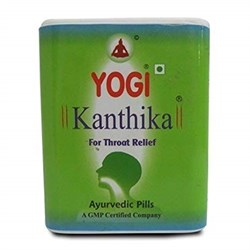 Yogi Kanthika (Йоги Кантика) - драже от кашля и боли в горле,140 шт - фото 9491