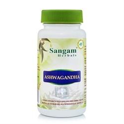Ashwagandha (Ашвагандха таблетки), 60 таб. по 600мг - фото 9506