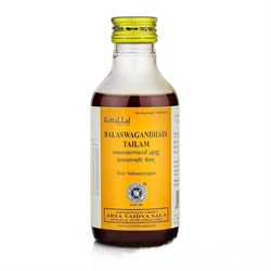 Balaswagandhadi tailam (Баласвагандхади масло) - нормализует Вата-дисбалансы - фото 9525