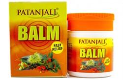 Balm Patanjali - аюрведический бальзам от простуды, насморка и кашля - фото 9549