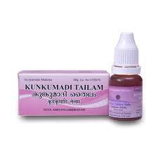 Керальское масло Kumkumadi Tailam, 10 мл - фото 9605