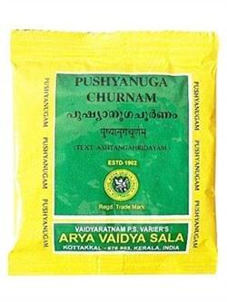 Pushyanug churna (Пушьянуг чурна) - нормализация менструаций, лечение меноррагии, 10гр - фото 9608