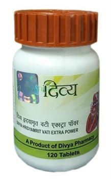 Hridyamrit Vati (Хридьямрит Вати) - для лечения сердечно-сосудистых заболеваний - фото 9623