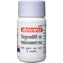 Tribhuvankirti ras (Трибхуванкирти рас) - от простуды и вирусов - фото 9631